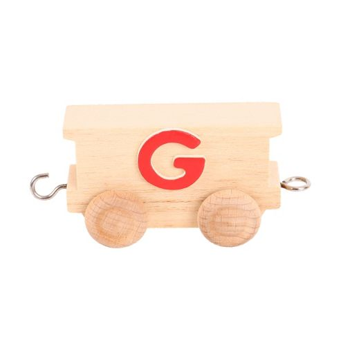 Bigjigs Toys BJ201G Name Train Letter G