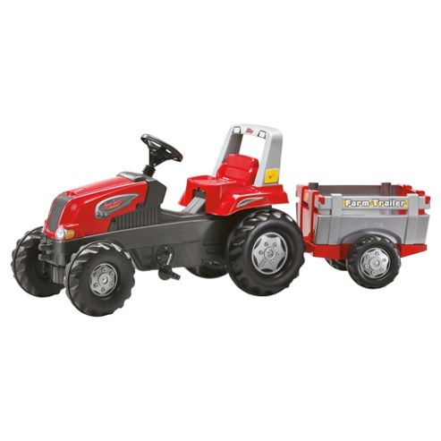 Rolly Junior RT Tractor Farm Trailer Ride-On