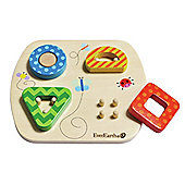 Teamson EverEarth Wooden Sorting Puzzle