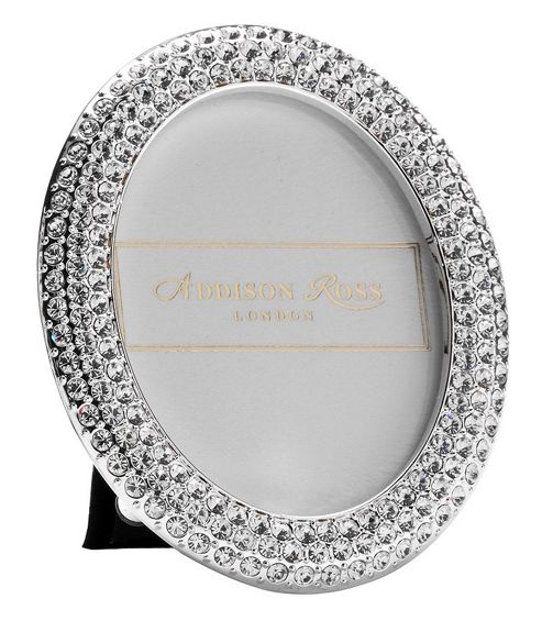 Addison Ross Diamante Bling Photo Frame Oval Frame