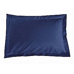 Julian Charles Percale Navy Luxury 180 Thread Count Oxford Pillow Cases