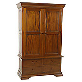 Aspect Design by Wayfair Sleigh Bedroom Wardrobe
