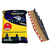 Scalextric C8223 8X Straight Sport Borders Barriers