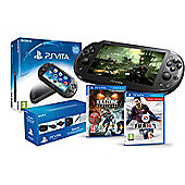 """PS VITA SLIM (KILLZONE, FIFA 14 AND PLAYSTATION VITA STARTER KIT )"""