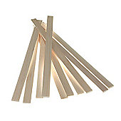 Balsawood 6.4 x 25 x 450 mm Bulk Pack 10