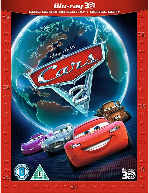Cars 2 3D Super Play - 3D Bluray