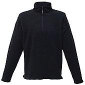 Regatta Micro Zip Neck Fleece L Black