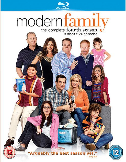 Modern Family Season 4 (Blu-Ray Boxset)
