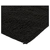 Tesco Basics Bathmat Cotton Black
