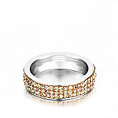Shimla Ladies Gold Stainless Steel Ring - SH-124ML