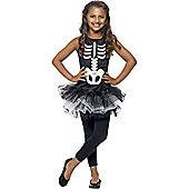 Skeleton Tutu - Child Costume 10-12 years