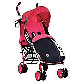 Koochi Speedstar Pushchair, Mix Magenta