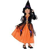 Child Pretty Witch Costume Medium