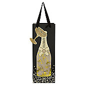 TESCO BOTTLE BAG CHAMPAGNE GOLD