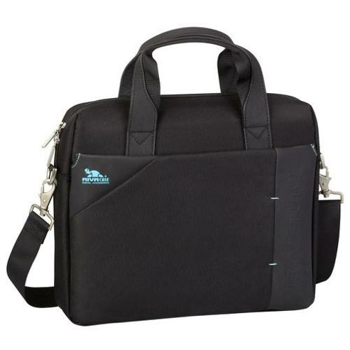 RIVACASE 8120 13.3 Inch Laptop Bag, Black