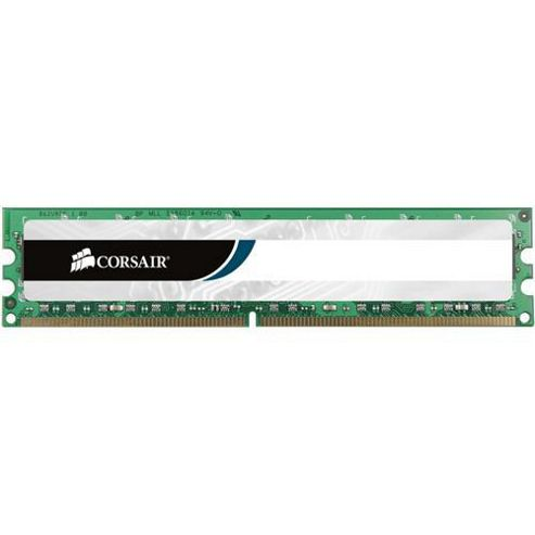 Corsair Microsystems Value Select 1GB 2 x 512MB 400MHz PC2 3200 DDR SDRAM Memory Module Kit