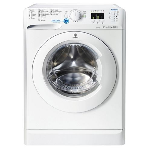 Indesit Innex XWA81682XW Washing Machine , 8Kg Load, 1600 RPM Spin, White