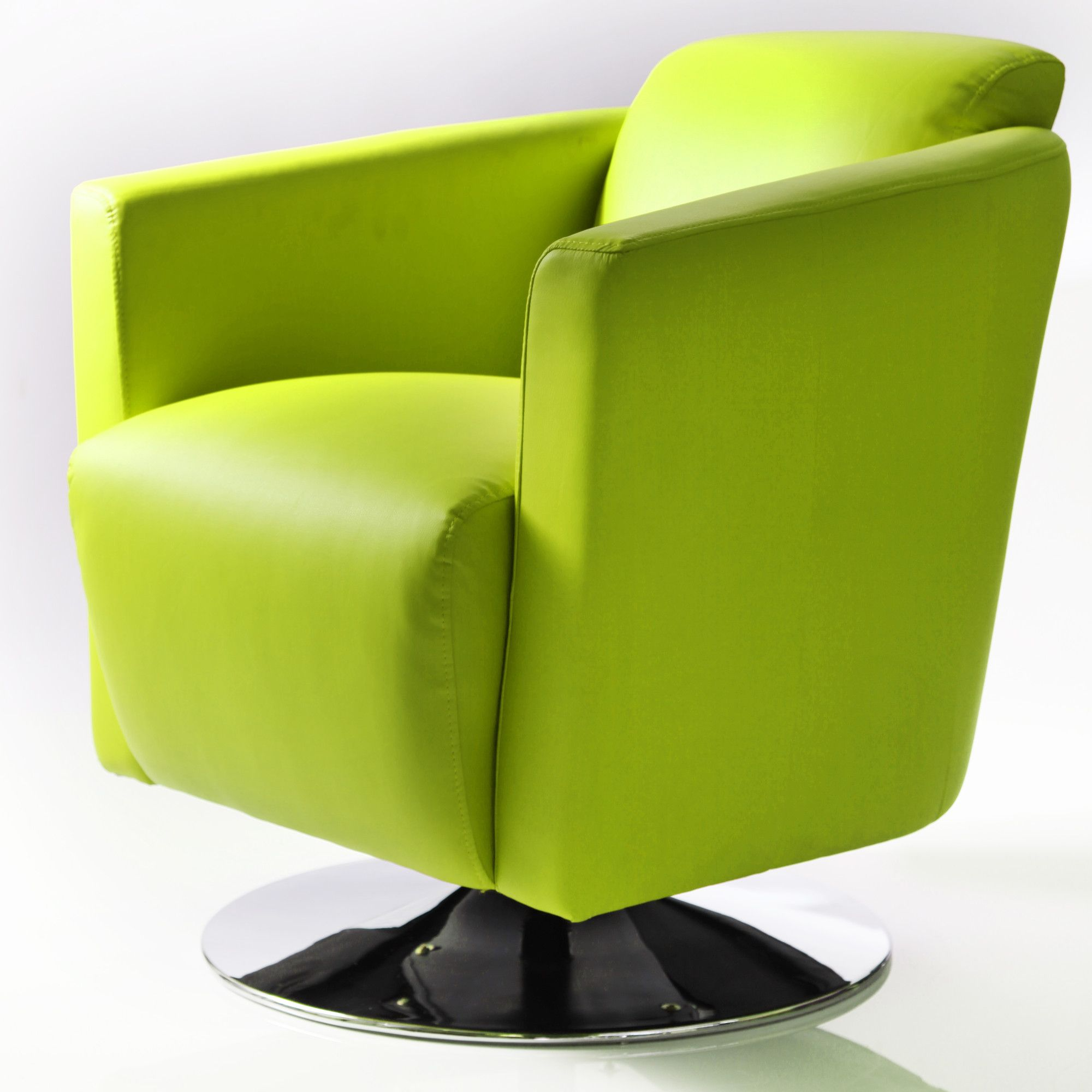 Wilkinson Furniture Pluto Swivel Tub chair - Avocado at Tesco Direct