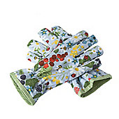 Pair Of Canvas Gardening Gloves - Multi