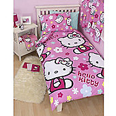 Hello Kitty Rotary Duvet Cover Set - Single