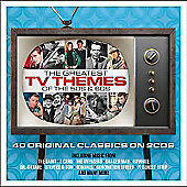 Various Artists Greatest TV Themes Of 50's & 60's 2 cd