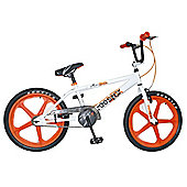 "Rooster Armageddon BMX 20"" Wheel White with Orange Skyways"