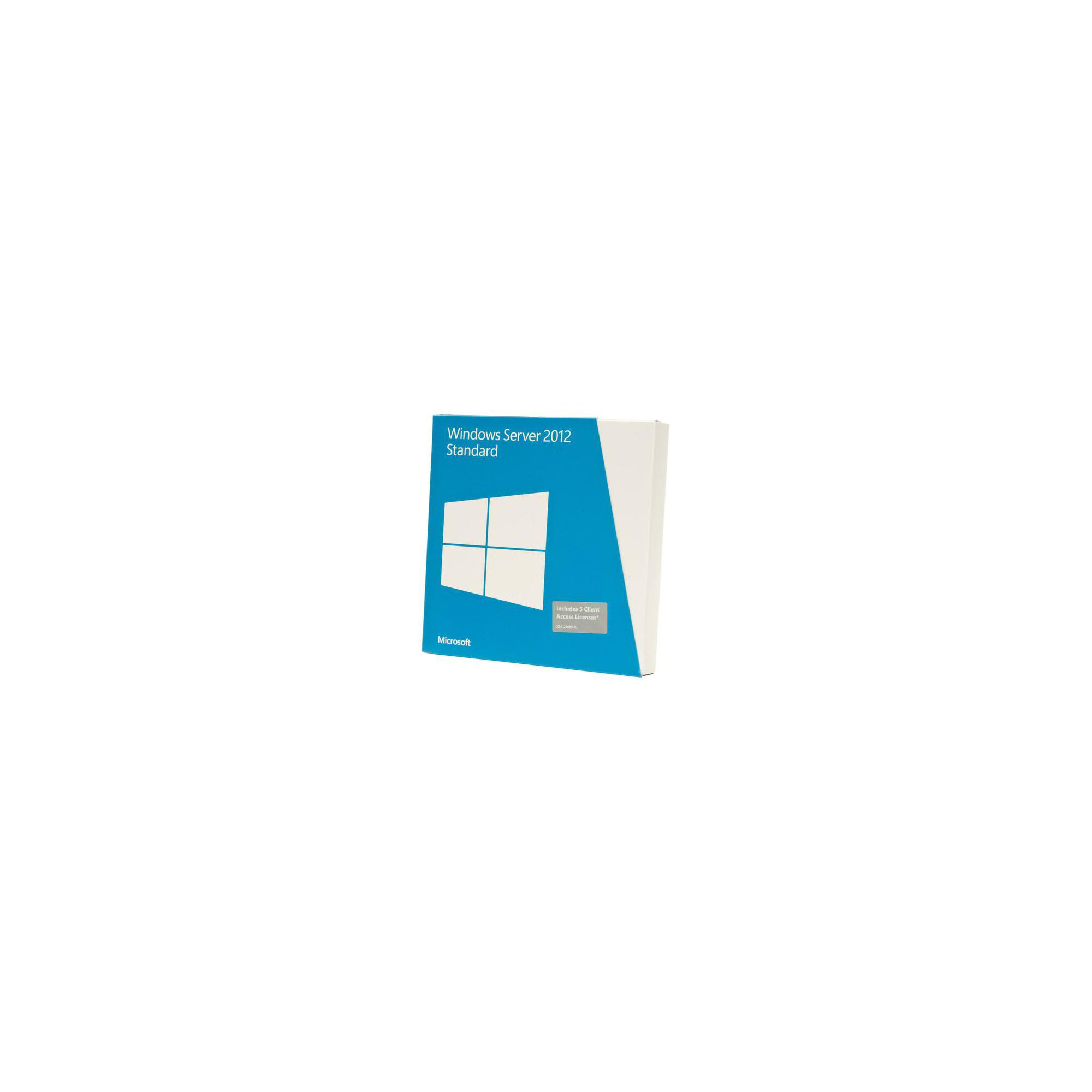 OEM - Microsoft Windows Server 2012 Standard Edition 2 CPU/2 Virtual Machines (Single Pack) at Tesco Direct