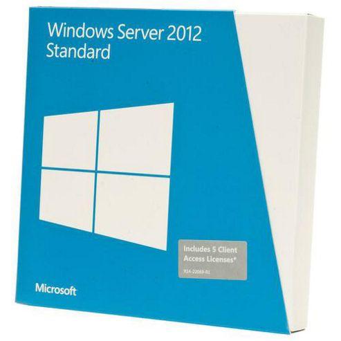 OEM - Microsoft Windows Server 2012 Standard Edition 2 CPU/2 Virtual Machines (Single Pack)