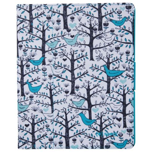 Speck Fit Folio iPad Case Lovebirds Teal