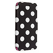 Case It iPhone 6 Folio Case - Polka Dot - Innovate - Black