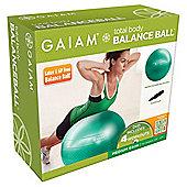 Gaiam Total Body Balance Ball Kit - Green (65cm)