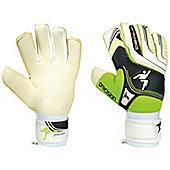 Precision Football Schmeichology 5 Hybrid (Mix Cut) Goalkeeper Gloves - White