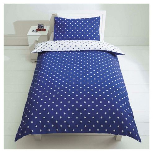 Kids Star Print Duvet Cover Set Single