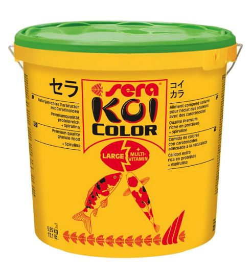 Sera Koi Large Colour Fish Food - 21 l