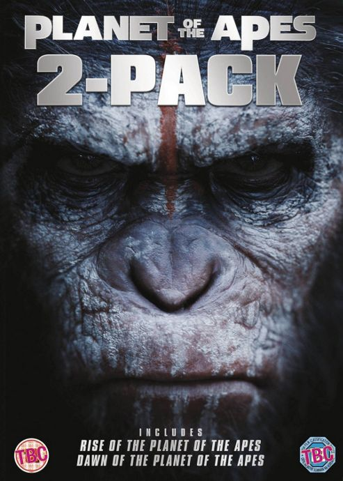 Dawn Of The Planet Of The Apes 1-2 DVD Box Set