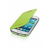 Samsung Galaxy S3 Mini Leather Feel Flip Case Mint Green