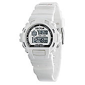 Sector Street Unisex Plastic Alarm Dual Time Watch R3251172020