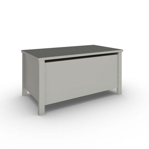buy sugar spice wooden toy box grey from our nursery. Black Bedroom Furniture Sets. Home Design Ideas