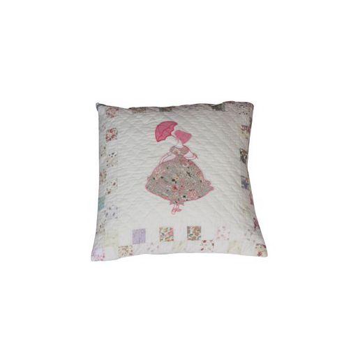 Woven Magic Parasol Calico Pastels Cushion