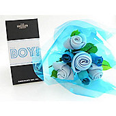 It's A Boy Baby Bouquet Combo