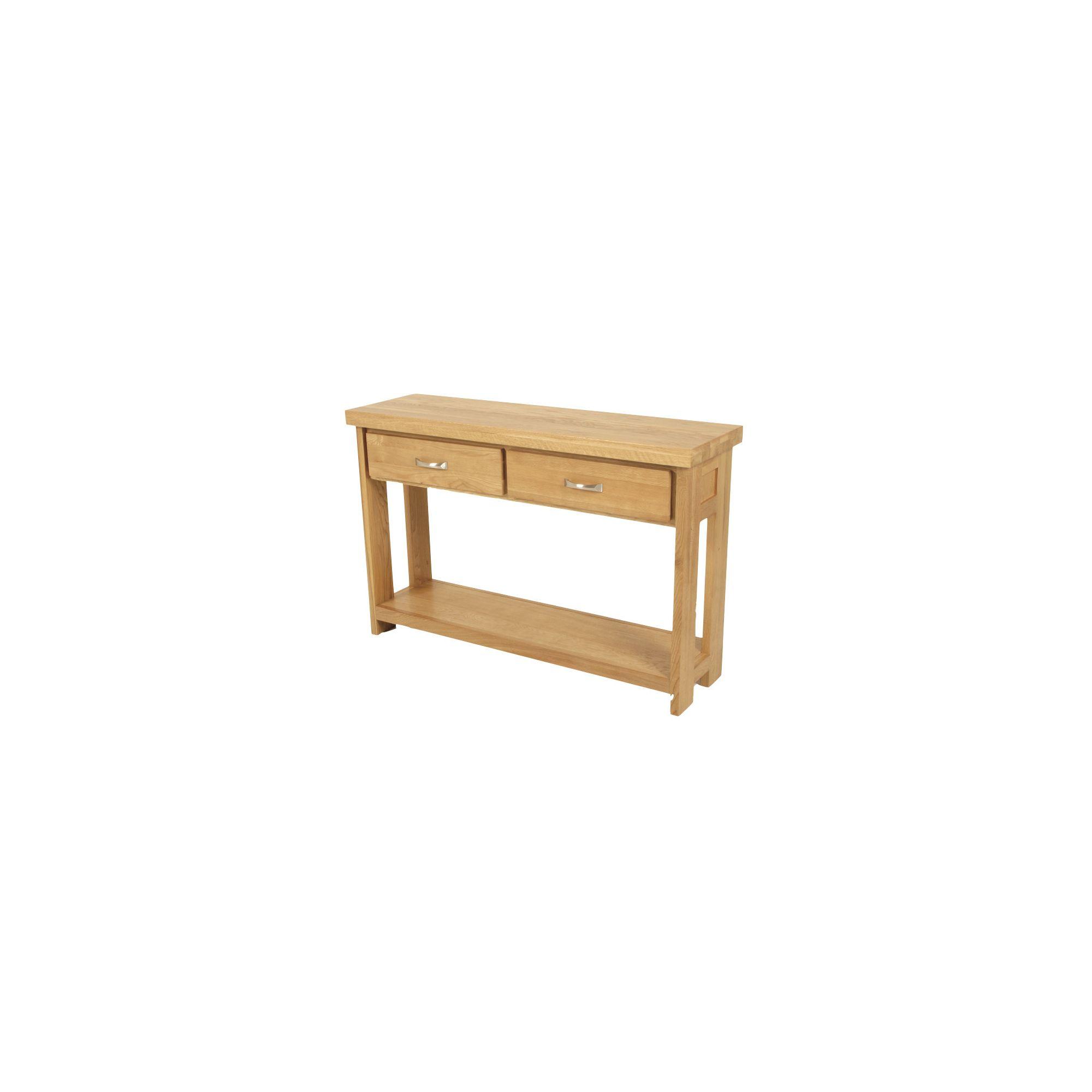 Elements Windsor Oak Hall Table at Tesco Direct