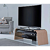 Alphason Spectrum ADSP1600-LO Light Oak TV Stand for up to 75 inch TVs