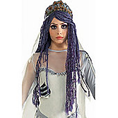 Rubies Fancy Dress Costume - Corpse Bride Wig - ADULT - One Size