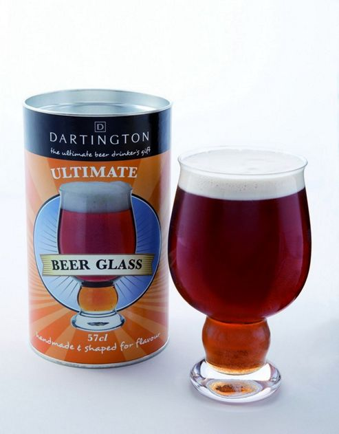Dartington Ultimate Beer Glass Drinking Gift