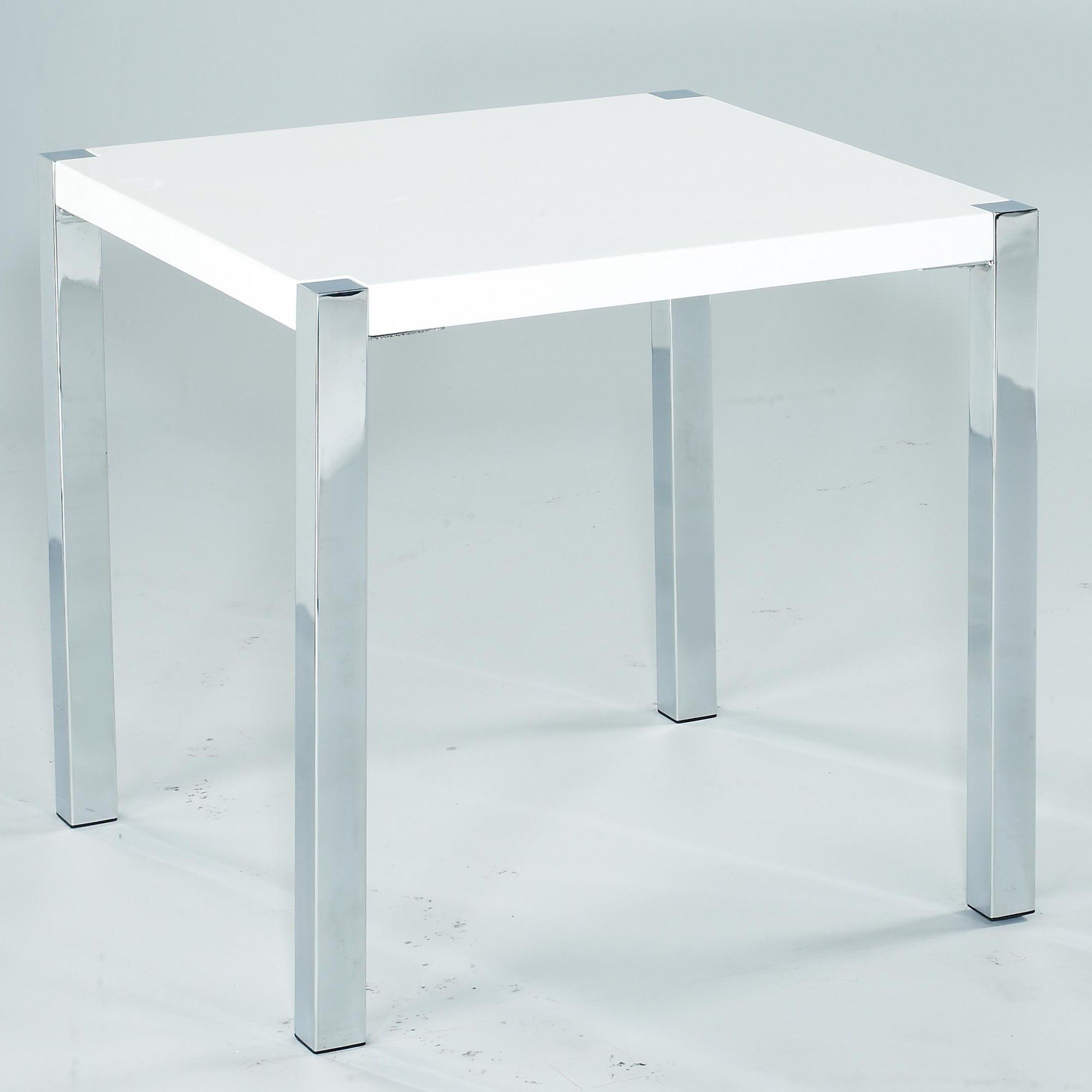 Home Zone Novello Occasional Lamp Table - White