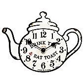 Jones Teapot Wall Clock