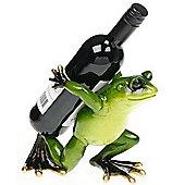 Leap - Frog Shaped Decorative Wine Bottle Holder - Green