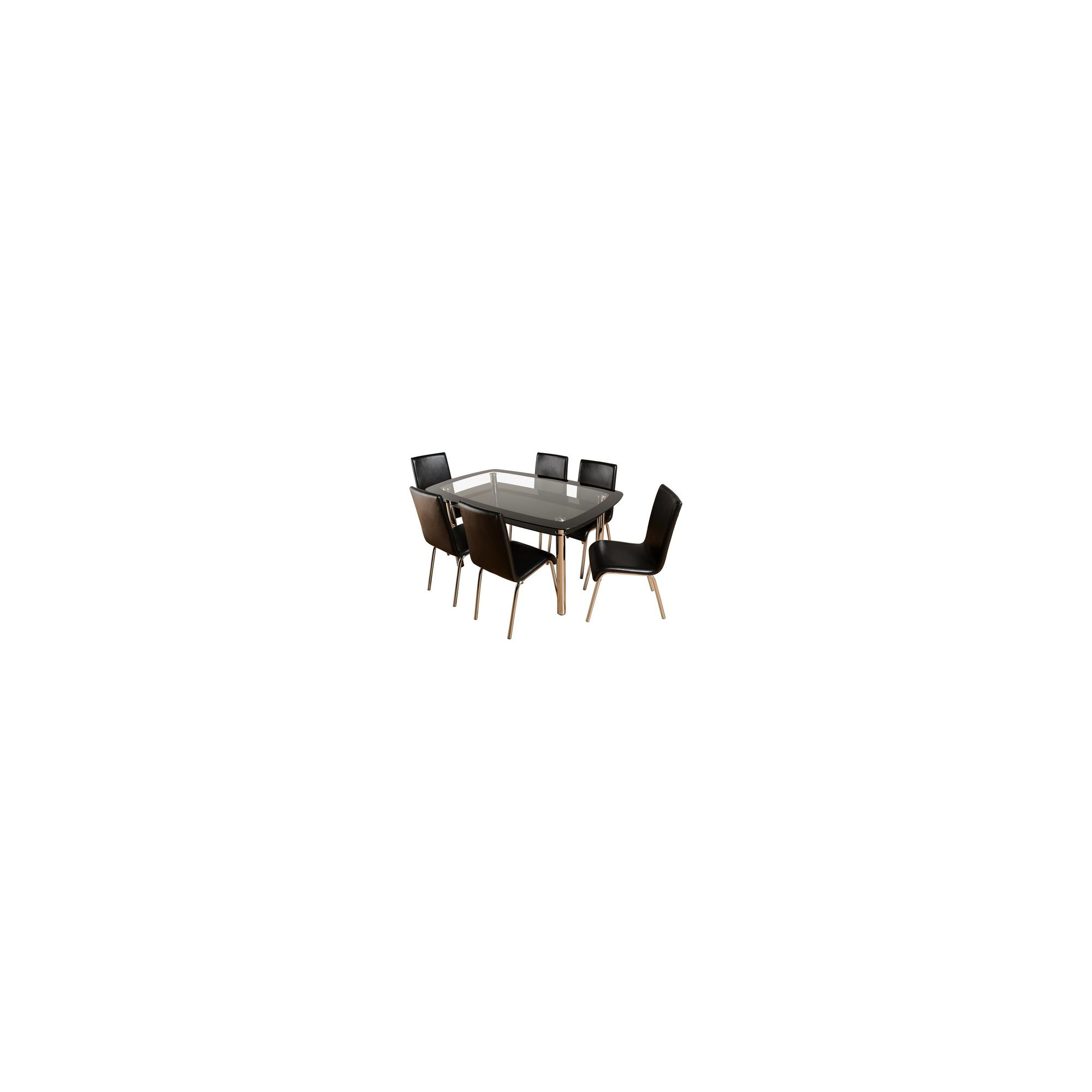 Home Essence Columbus Seven Piece Dining Set at Tesco Direct