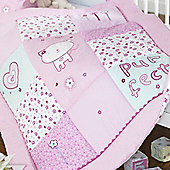 Bed-e-ByesPurfect Pink Quilt