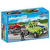 Playmobil 6111 City Action City Cleaning Landscaper with Lawn Mower